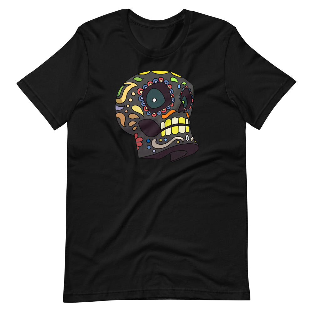 Color Skull - Short-Sleeve Unisex T-Shirt
