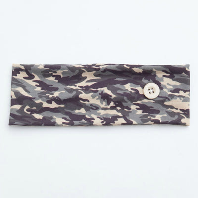 Mask Holder Headband CAMO Print1