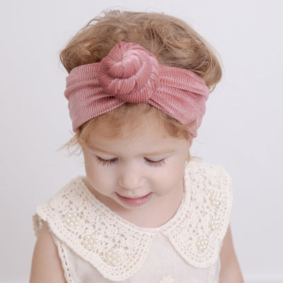 Bijou  Velveted Corduroy Headwraps 10 Colors