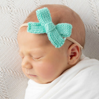 Crochet Bow Headbands 15 Colors Think Pink Bows
