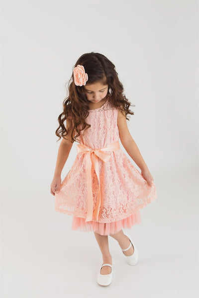 Bella Dress CORAL