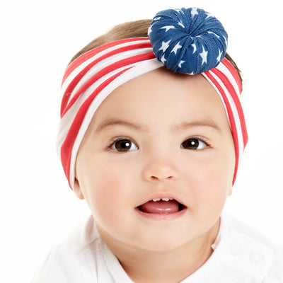 Patriotic Turban Nylon Headwraps
