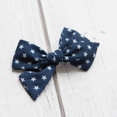 Patriotic Nylon Bows
