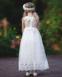 Athia Flower Girl Communion Baptism Dress