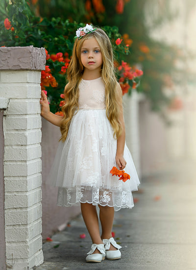 Aeyan Flower Girl Dress