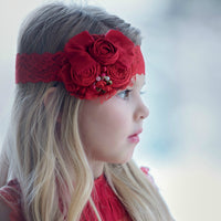 Skye Couture Flower Lace Headband
