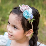 Style 34 Pocket Full of Posies Nylon Headband