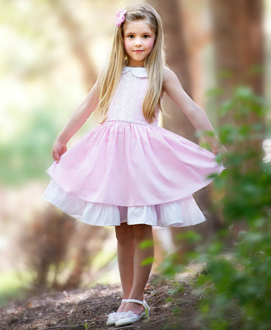 Madison Twirl Dress Pink