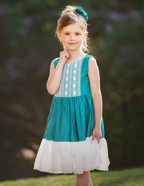 Leilani Dress - Emerald