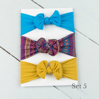 Nylon Headwrap Set 5