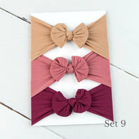 Nylon Headwrap Set 9