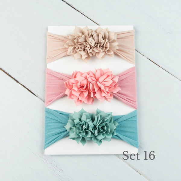 Nylon Headwrap Set 16