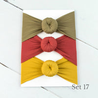 Nylon Headwrap Set 17