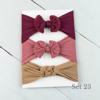 Nylon Headwrap Set 23
