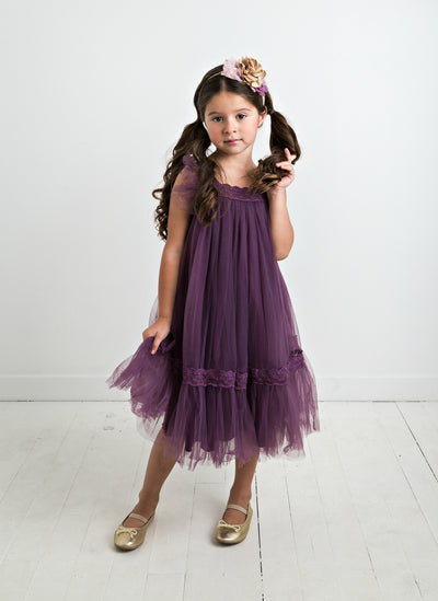 Kailani Dress -  Eggplant