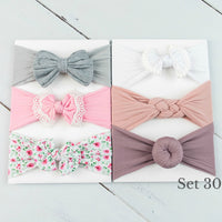 Nylon Headwrap Set 30