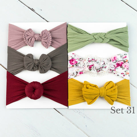 Nylon Headwrap Set 31