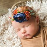 Style 44 Pocket Full of Posies Nylon Headband