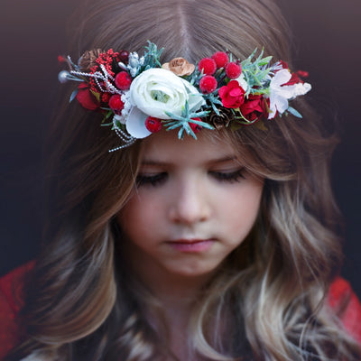 Cristine Flower Girl Crown