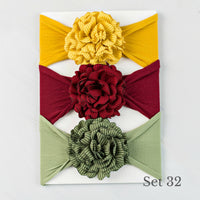 Nylon Headwrap Set 32