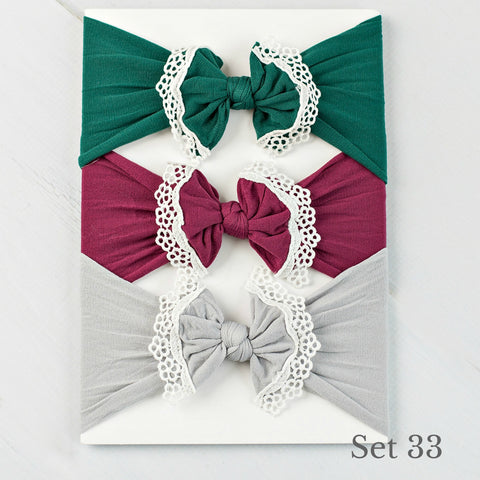 Nylon Headwrap Set 33