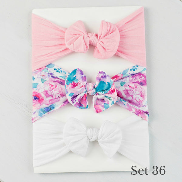 Nylon Headwrap Set 36