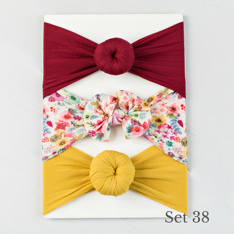 Nylon Headwrap Set 38