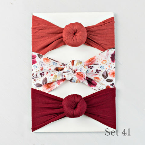 Nylon Headwrap Set 41