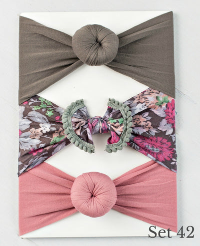 Nylon Headwrap Set 42