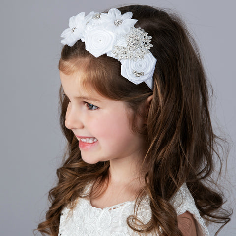 Seraphine Headband Off White