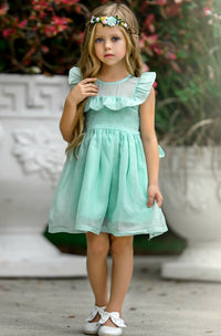 Kendall Dress - Mint