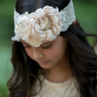 Daughter Dearest Couture Lace Headband