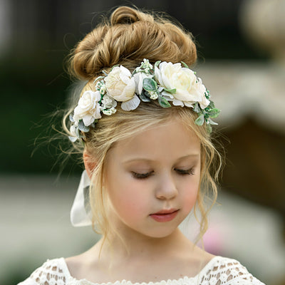 Victoria Flower Girl Crown