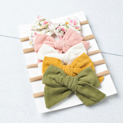 Set of 5 Nylon Headbands #46