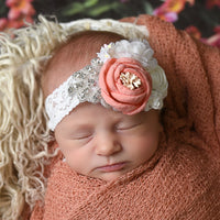 Alice Couture Flower Lace Headband