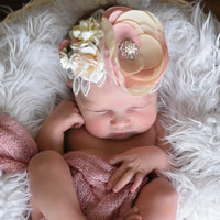 Ellie Couture Flower Lace Headband