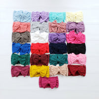 Oversized Nylon Bow Headwrap 23 Colors