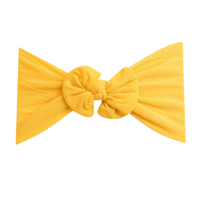 Knot Nylon Headwraps Lemon 29