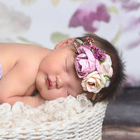 Style 55 Pocket Full of Posies Nylon Headband