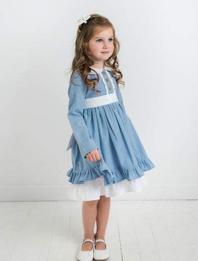 Analisse Dress - Denim Blue