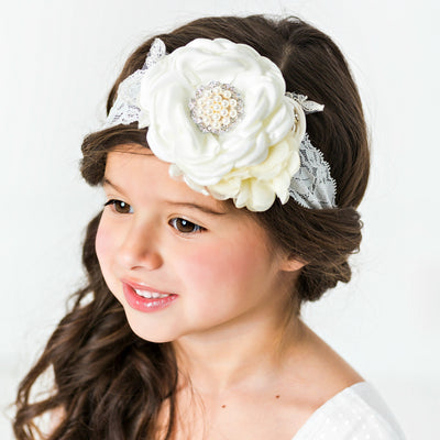 Chloe Couture Flower Lace Headband