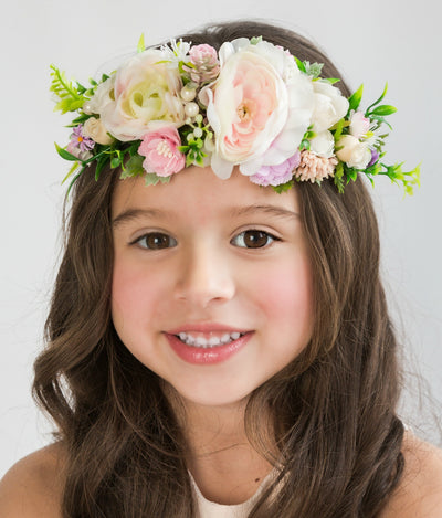 Khloe Flower Girl Crown