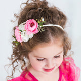 Style 24 Pocket Full of Posies Nylon Headband