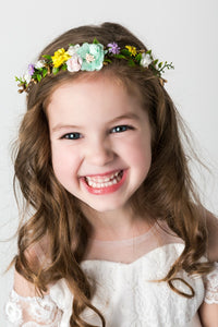 Addison Flower Girl Crown