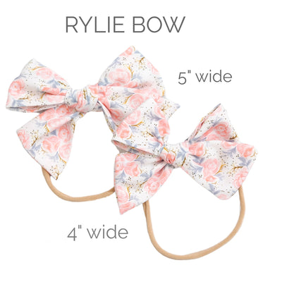 SET of 3 Nylon Headbands Rylie # 1