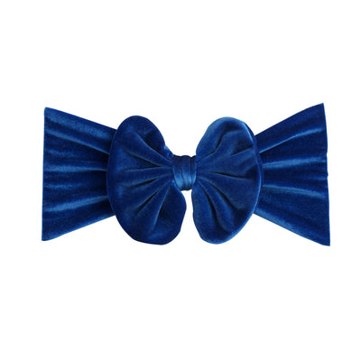 Velvet  Headwraps Royal Blue 23