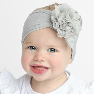 Couture Nylon Headwraps PEARL GREY 12