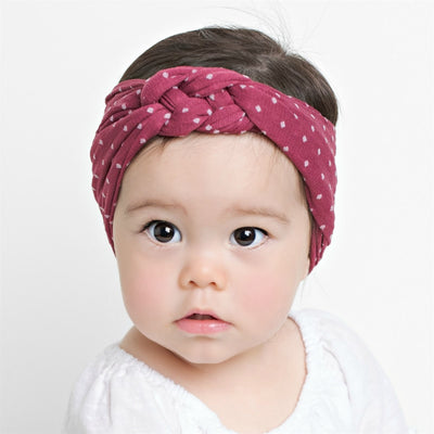 BRIA Sailor Knot Headwraps Mulberry 35