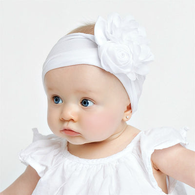 Couture Nylon Headwraps WHITE 13