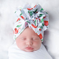 Turban FLOWER Hats Cherries P9